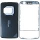 Nokia N96 Cover Titanium/Grijs