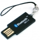 Qtrek Bluetooth USB Dongle Tinytooth Zwart
