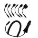 Autolader voor Nokia/ Samsung/ Sony Ericsson/ BenQ Siemens/ Mini USB