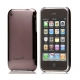 Cygnett Mercury Mirrored Slim Case Gunmetal Grijs voor iPhone 3G/ 3GS