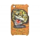 Ed Hardy Faceplate Tiger Oranje voor iPhone3G/ 3GS
