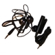 Amoi Headset Stereo en Adapter Zwart