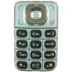 Nokia 6125/ 6136 Keypad Zilver