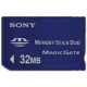 Sony Memory Stick Duo 32 MB (met Magic Gate)