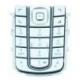 OEM Keypad Zilver voor Nokia 6230i