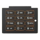 Sony Ericsson W595 Keypad Latin Lava Zwart