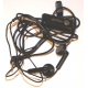 E-ten Glofiish Headset Stereo Zwart DX900 (2.5 mm)