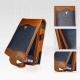 Bellagio Leder Beschermtasje Flip Style Brandy Blauw voor HP Ipaq h4155 met Riemclip