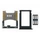 Apple iPhone 3G SIM Kaart Set Zwart (3-delig)