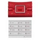 Sony Ericsson Hazel Keypad Set Rouge