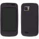 Silicon Case Zwart voor Samsung i8000 Omnia II
