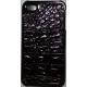 Hard Case Krokodil Patroon Donker Bruin voor Apple iPhone 4/ 4S