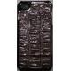 Hard Case Krokodil Patroon Bruin voor Apple iPhone 4/ 4S