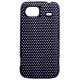 Hard Case Perforated Mesh Zwart voor HTC 7 Mozart