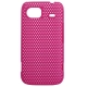Hard Case Perforated Mesh Hot Pink voor HTC 7 Mozart