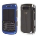 Ventev AlumiSNAP Hard Case Blauw/Transparant voor BlackBerry 9700 Bold