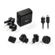 Dexim Travel Adapter Kit DCU058 voor BlackBerry (MiniUSB/MicroUSB)