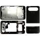 HTC HD7 Cover Set Zwart