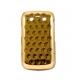 Hard Case Sparkle Dot Patroon Goud voor BlackBerry 9700 Bold