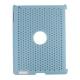 Hard Case Perforated Mesh Licht Blauw voor Apple iPad2