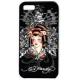 Ed Hardy Faceplate Geisha Zwart voor iPhone 4/ 4S