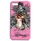 Ed Hardy Faceplate Geisha Pink voor iPhone 4/ 4S