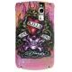 Ed Hardy Faceplate LKS Pink voor BlackBerry 8900 Curve