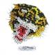 Ed Hardy Crystal Decal Mini Sticker Tiger