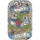 Ed Hardy Universal Crystal Decal Sticker Love is a Gamble