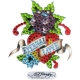 Ed Hardy Crystal Decal Sticker Mini Eternal Love