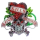 Ed Hardy Crystal Decal Sticker Mini Love Kills Slowly
