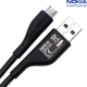 Nokia MicroUSB Datakabel CA-179 Zwart