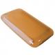TPU Silicon Case Eco Cirkel Oranje voor Apple iPhone 3G/ 3GS