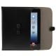 M.Humming Lederen Envelop Sleeve Soft Zwart voor Apple iPad1/ iPad2/ iPad3