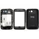 HTC Wildfire S Cover Set Zwart