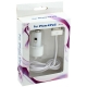 Autolader Mini Wit voor Apple iPhone 4/ 4S/ iPad2/ iPad3 (2100 mAh)