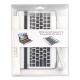 Aluminium Case met Bluetooth Toetsenbord voor Samsung P7500/ P7510 Galaxy Tab