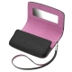 BlackBerry 9800 Torch Leather Case Horizontaal Zwart/Pink (ACC-32839-201)