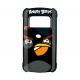 Nokia Hard Case Angry Birds CC-5002 Zwart voor C6-01