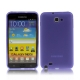 TPU Silicon Case Transparant Mat Paars voor Samsung N7000 Galaxy Note