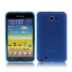 TPU Silicon Case Transparant Mat Blauw voor Samsung N7000 Galaxy Note