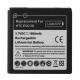 Batterij voor HTC EVO 3D (net als BA S590)