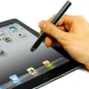 Metal Soft Touch Stylus Pen (Potlood Vorm) Zwart voor Capacitieve Touch Screen