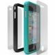 Cygnett Snaps Duo Silicone Frames (Set) Zwart en Blauw voor iPhone 4