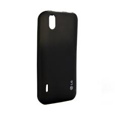 LG Silicon Case CCR-250 Zwart voor LG P970 Optimus Black