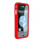 Cygnett Snaps Silicone Frame Rood voor iPhone 4