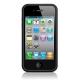Cygnett Snaps Silicone Frame Zwart voor iPhone 4