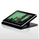 Skech Leder Beschermtasje Folder II Zwart voor iPad 1