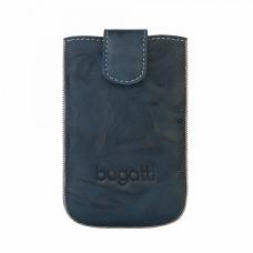 Bugatti SlimCase Leder Beschermtasje Unique 2011 Blauw Maat L