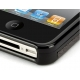 Griffin Hard Case Leder Elan Form Zwart voor iPhone 4/ 4S